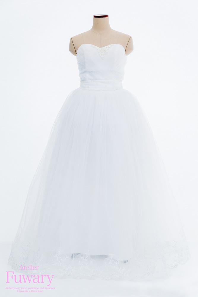 白ウェディングドレス