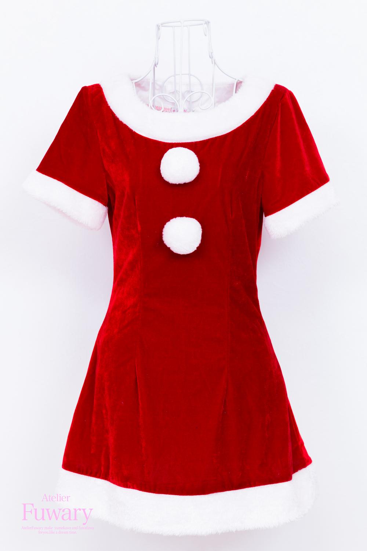 サンタ半袖赤