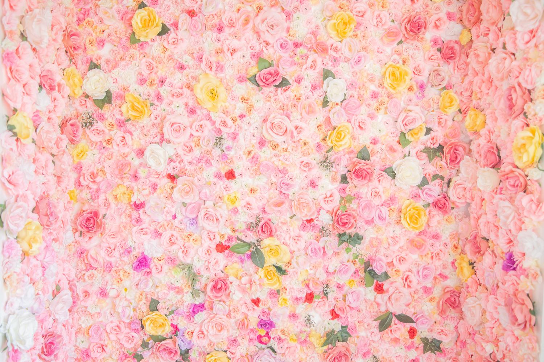 フラワー造花背景撮影